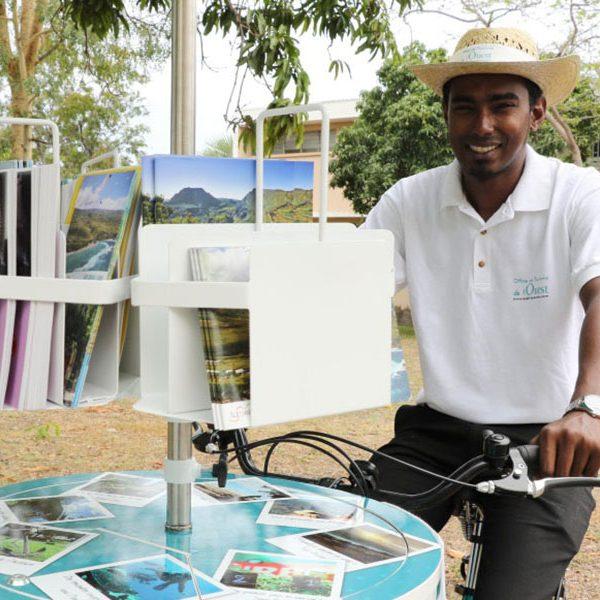 Trip Wagon en action à l'Office de Tourisme de l'Ouest à la Réunion